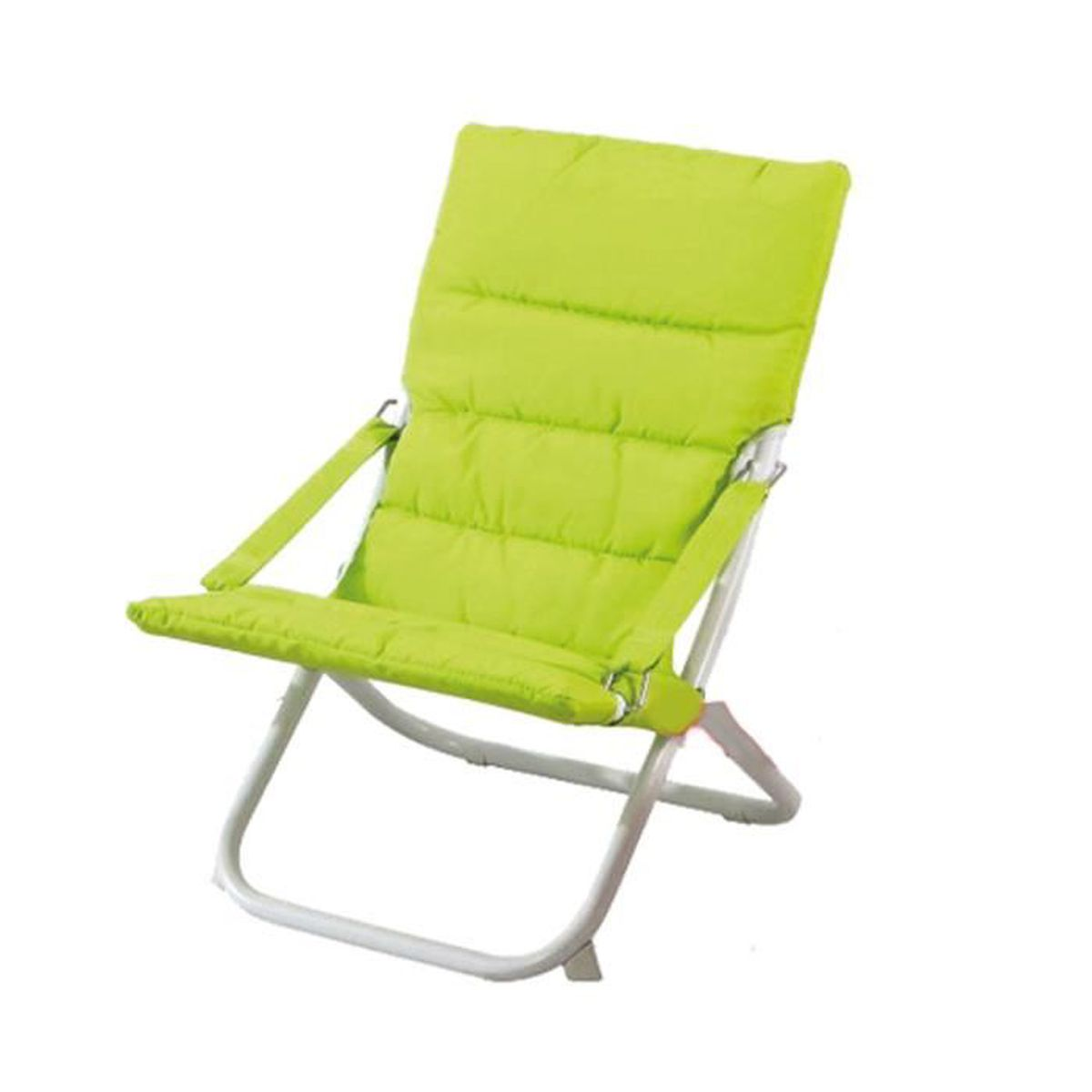 chilienne ange enfant matelass e vert anis vert anis achat vente chaise vert cdiscount. Black Bedroom Furniture Sets. Home Design Ideas