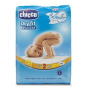 COUCHE CHICCO Dry Fit Advanced Couches - Taille 2 Mini -