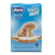 COUCHE CHICCO Dry Fit Advanced Couches - Taille 5 Junior