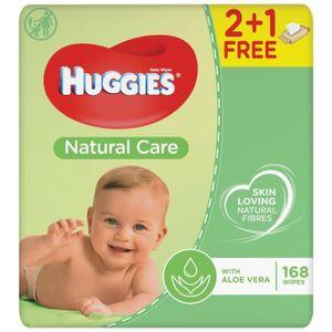 Huggies Lingettes PURE 3+1-4x64 Lingettes 2395400