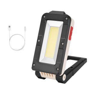 LED Rechargeable torche magnétique Flexible Inspection lampe baladeuse lanternes