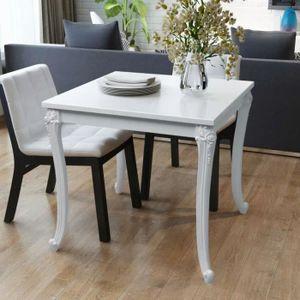 TABLE À MANGER SEULE Table de salon salle à manger design 80 cm laquée