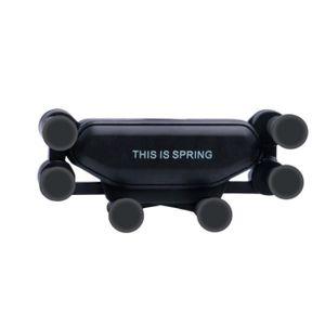 FIXATION - SUPPORT Gravité support de téléphone portable pour voiture