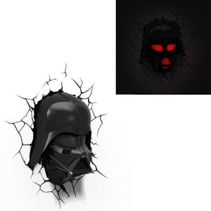 APPLIQUE  STAR WARS Lampe Décorative 3D Dark Vador
