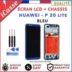 ECRAN DE TÉLÉPHONE ECRAN LCD HUAWEI P20 LITE COMPLETE AVEC CHÂSSIS BL