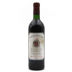 VIN ROUGE Château Clos Beauregard 1986 Vin Rouge 75cl AOC Po