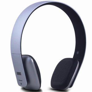 CASQUE - ÉCOUTEURS Casque Audio Bluetooth Sans Fil – August EP636 – M