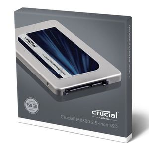 DISQUE DUR SSD Crucial MX300 750Go 2.5¿    CT750MX300SSD1