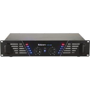 AMPLI PUISSANCE IBIZA AMP300 Amplificateur de sonorisation 2 x 240