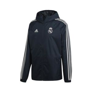 best cheap 8a755 42723 TENUE DE FOOTBALL Veste Coupe Vent Real Madrid adidas Bleu