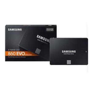 DISQUE DUR EXTERNE SAMSUNG SSD interne 860 EVO - 2,5 pouces - Stockag