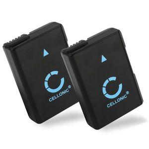 BATTERIE APPAREIL PHOTO 2x Batterie pour Nikon D5500 D5600, D3200 D3300 D3