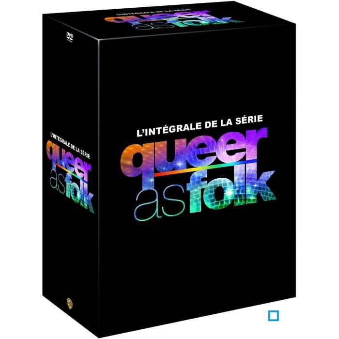 dvd queer as folk integrale s1 s5 24dvd en dvd s rie pas. Black Bedroom Furniture Sets. Home Design Ideas