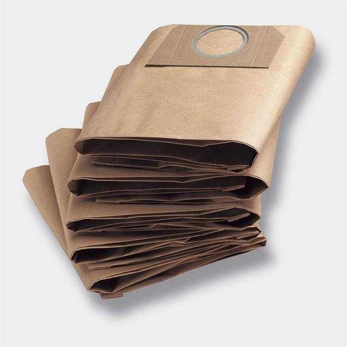 Véritable KARCHER 6.959-130.0 filtre en papier sacs 5pcs