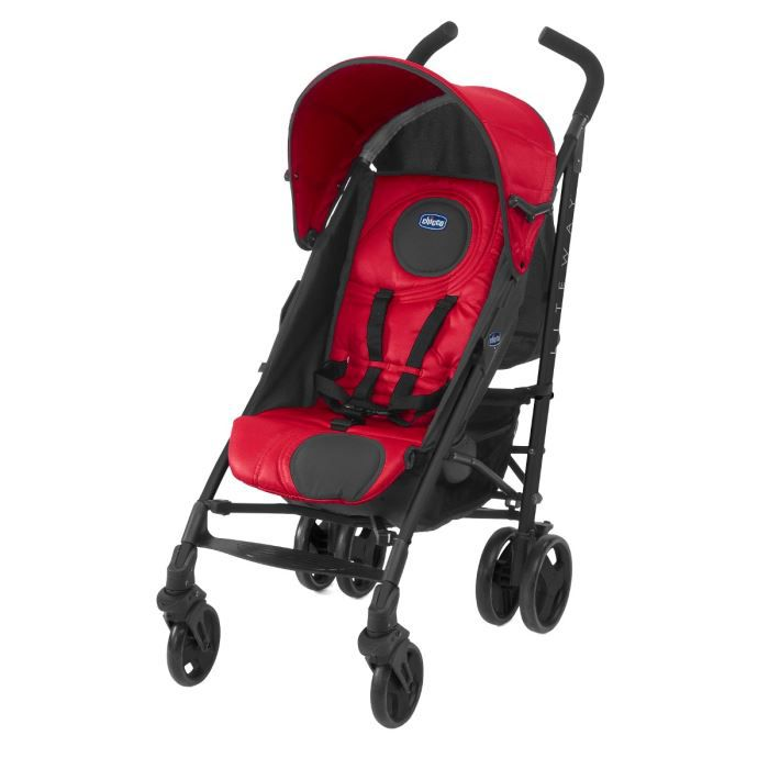 Chicco poussette canne lite way red wave rouge achat vente poussette 8058664017676 les - Poussette canne chicco lite way ...