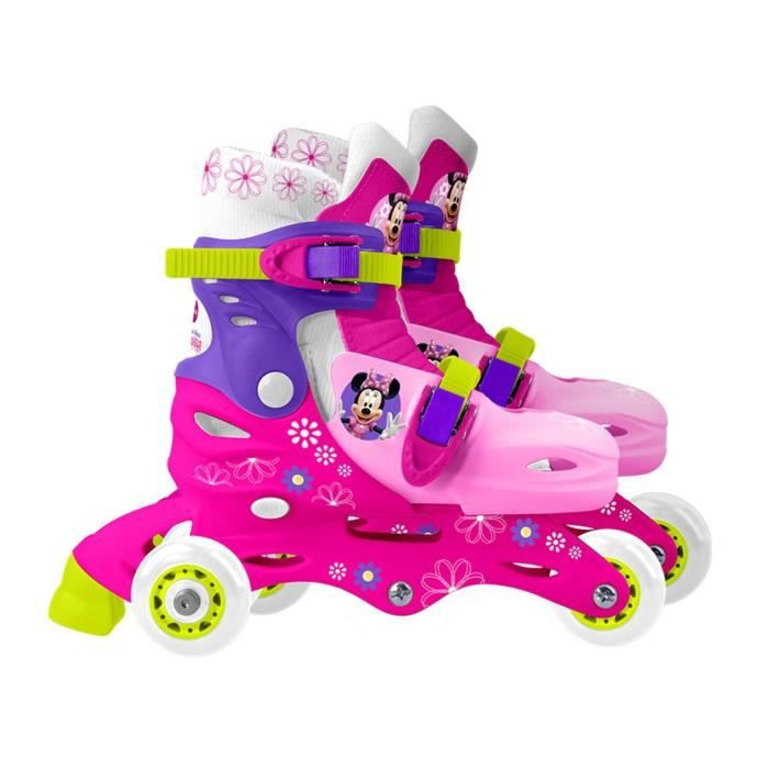 MINNIE Patins / Rollers 3 Roues Taille 27-30