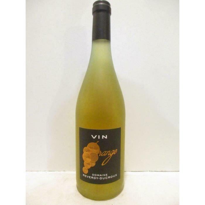sancerre reverdy-ducroux -vin orange- blanc 2018 - loire - centre