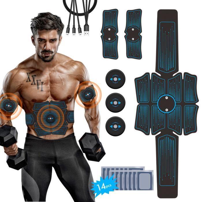 Musculaire Ceinture Abdominale Bras ABS électro-stimulation Trainer Massage Corps,Gym Workout Home Bureau Équipement de pour