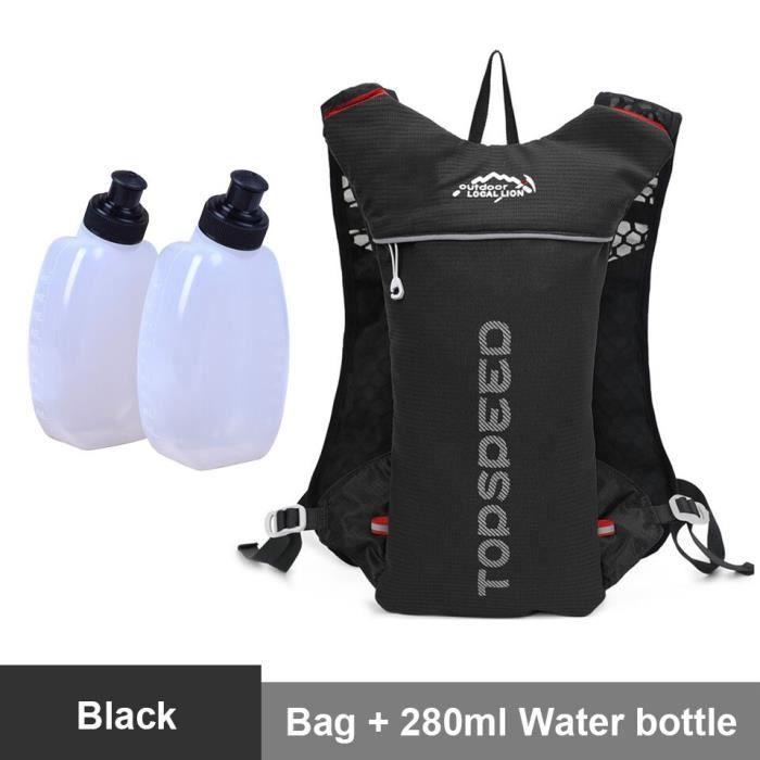 Sac à dos de course de fond avec pochette hydratation de 500 ml,harnais ultra running de marathon, sacoche de PK2329032