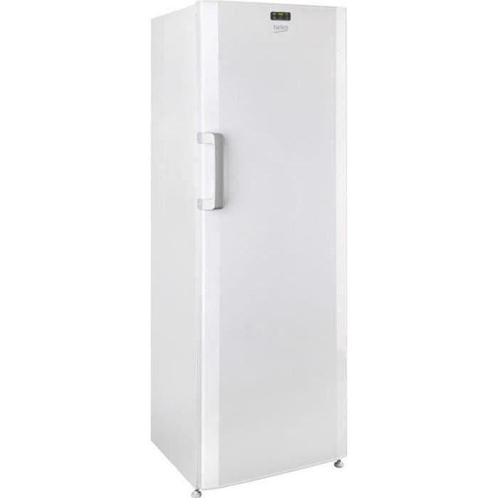 BEKO FS127330N - Congélateur armoire 237L - Froid statique - L59,5 x H 171cm - Blanc