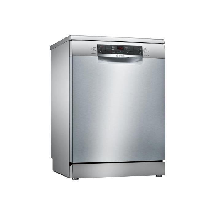 Bosch Serie 4 SMS46KI01E Lave-vaisselle pose libre largeur : 60 cm profondeur : 60 cm hauteur : 84.5 cm inox