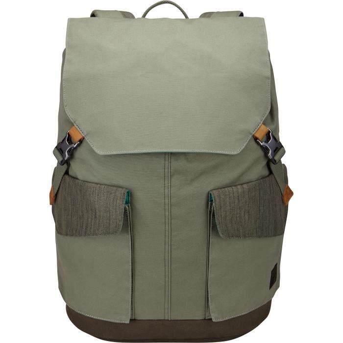 CASE LOGIC Sac à dos pour ordinateur portable LoDo - 15.6- - Vert pétrole