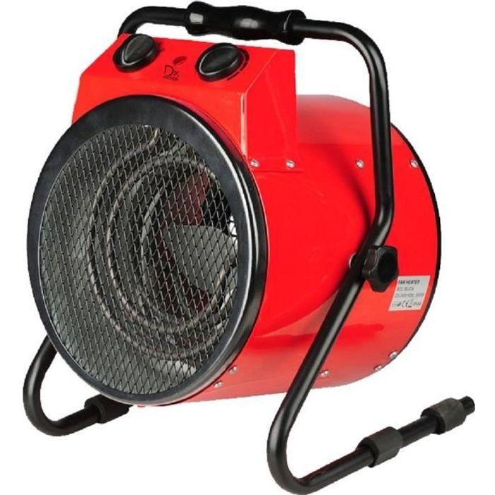 DX DREXON Canon à chaleur rouge 3000W