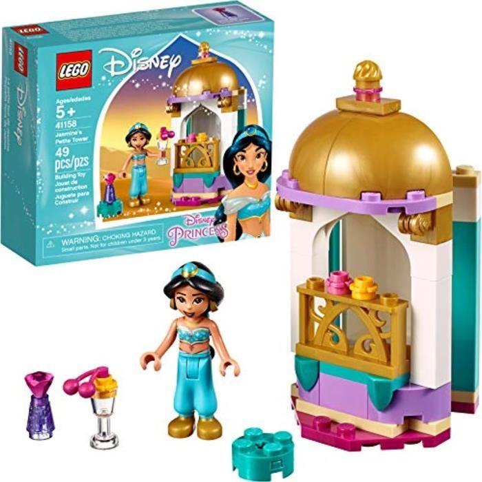 Jeu D'Assemblage LEGO TANOV Disney Jasmines Petite Tower 41158 Building Kit, 2019 (49 Pieces