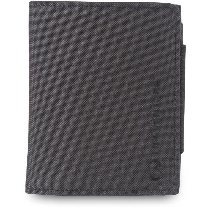 RFID Tri-Fold Wallet protégé Gris - Lifeventure