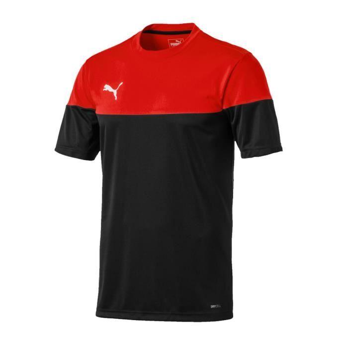 Maillot rouge/noir homme Puma ftblPLAY