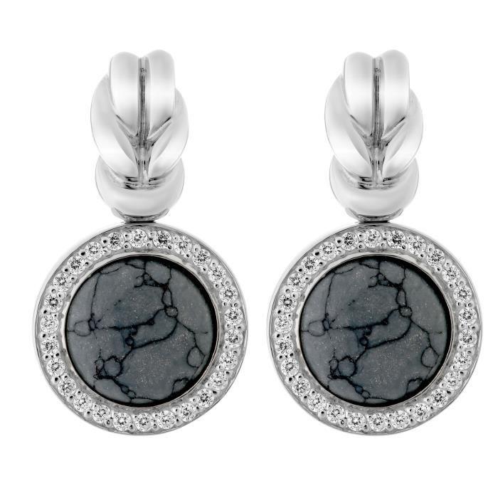 ORPHELIA SILVER Boucle d'oreille pour Femmes en Argent sterling 925 -ZO-5203
