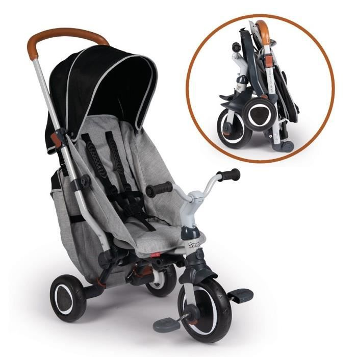 Porteur Tricycle Evolutif Robin Trike - Avec frein - SMOBY