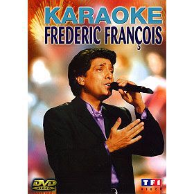 DVD Karaoké Frédéric François