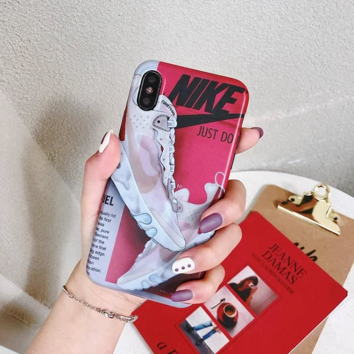 coque iphone 7 8 nike just do it coque bumper hous