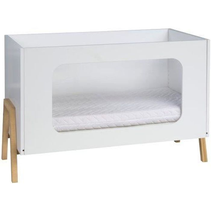 lit b b jolly nature 120x60 avec plexiglas achat vente lit b b 4042219157300 cdiscount. Black Bedroom Furniture Sets. Home Design Ideas