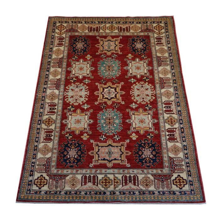 kazak tapis d orient entierement fait main 202x148 cm achat vente tapis cdiscount. Black Bedroom Furniture Sets. Home Design Ideas