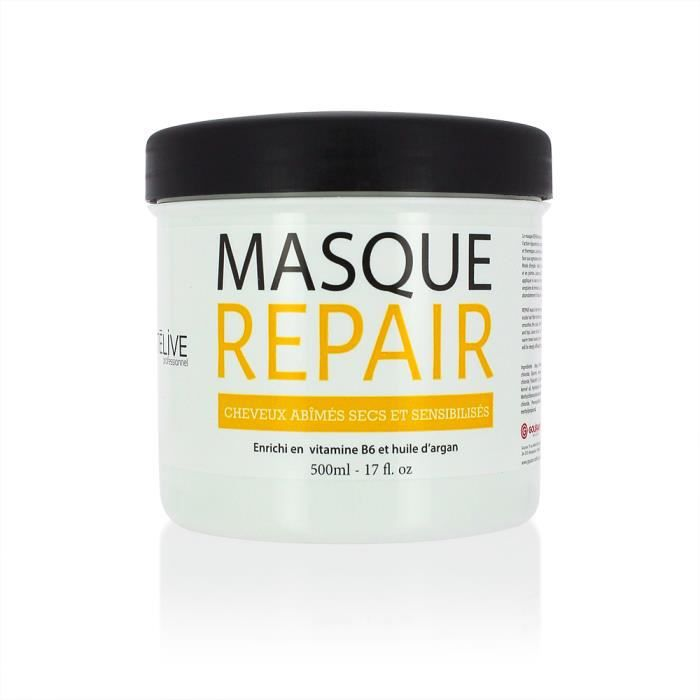 masque restructurant 500ml beaut live expert repair secs et ab m s beaut live femme. Black Bedroom Furniture Sets. Home Design Ideas