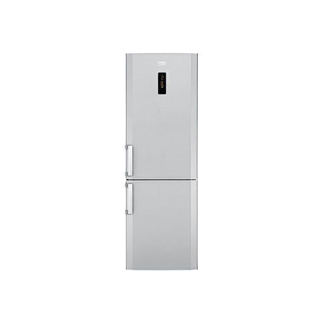 beko frigo combin 355l a no frost inox cn236220x electrom nager. Black Bedroom Furniture Sets. Home Design Ideas