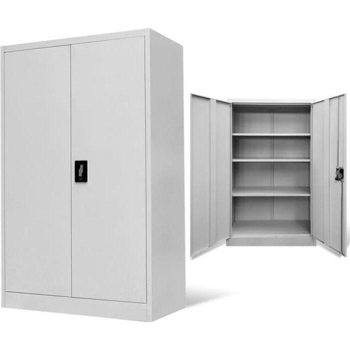Armoire en metal 2 portes - Achat / Vente pas cher