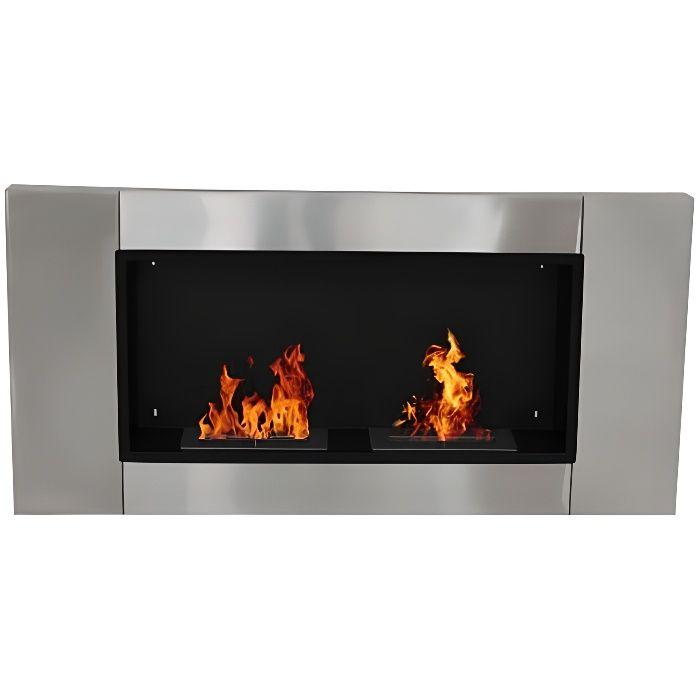 x16 Galets blanc décoratifs pour cheminée BIO ETHANOL résistant à la chaleur
