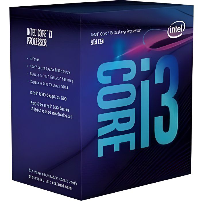 PROCESSEUR INTEL Processeur Core i3 8300 3,70 GHz Socket 1151