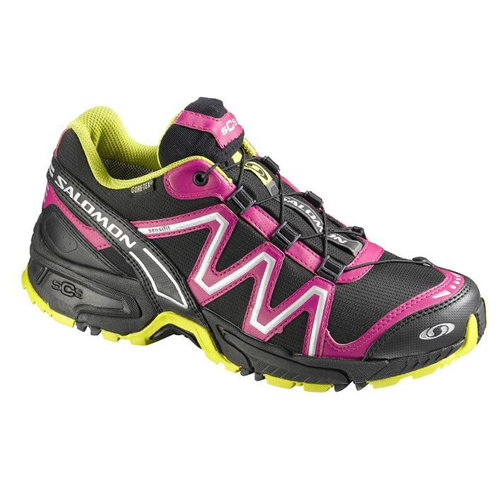 salomon chaussures de trail running gtx neon femme achat vente chaussure salomon trail gtx. Black Bedroom Furniture Sets. Home Design Ideas