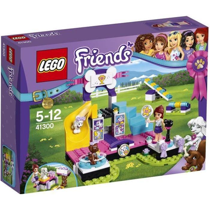 ASSEMBLAGE CONSTRUCTION LEGO®  Friends 41300 Le Concours Canin pour Chiots