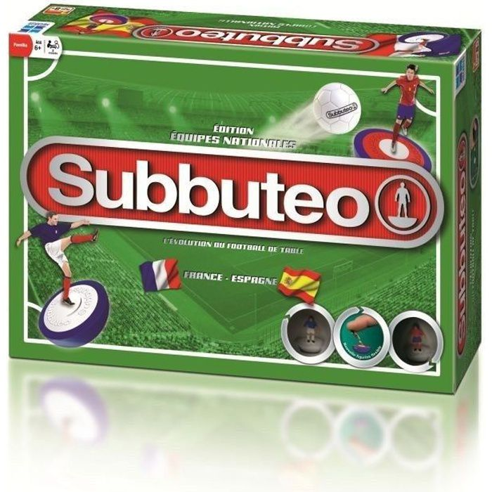 subbuteo le jeu boite france espagne achat vente. Black Bedroom Furniture Sets. Home Design Ideas