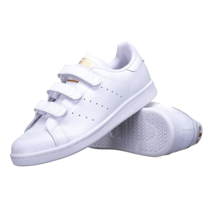 Conception innovante dc3cc 50622 Chaussure Adidas Stan Smith Cf S75188 /Or