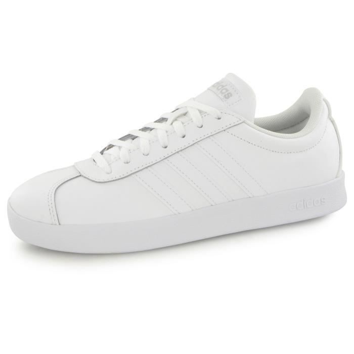 Adidas Neo Vl Court 2.0 blanc, baskets mode femme Blanc