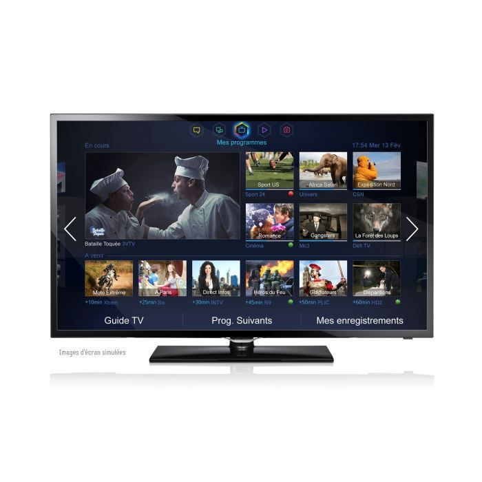 samsung 42f5300 smart tv 107 cm t l viseur led avis et prix pas cher cdiscount. Black Bedroom Furniture Sets. Home Design Ideas