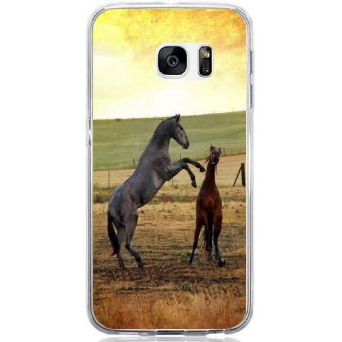 coque samsung galaxy s7 cheval