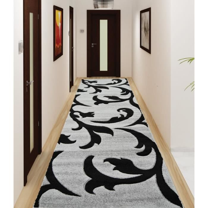 verso tapis de couloir 80x300 cm achat vente tapis de couloir 100 polypropyl ne cdiscount. Black Bedroom Furniture Sets. Home Design Ideas