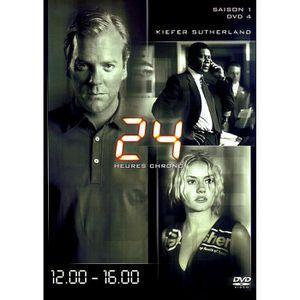 DVD FILM 24 heures chrono saison 1 DVD 4 12:00 16:00 DVD